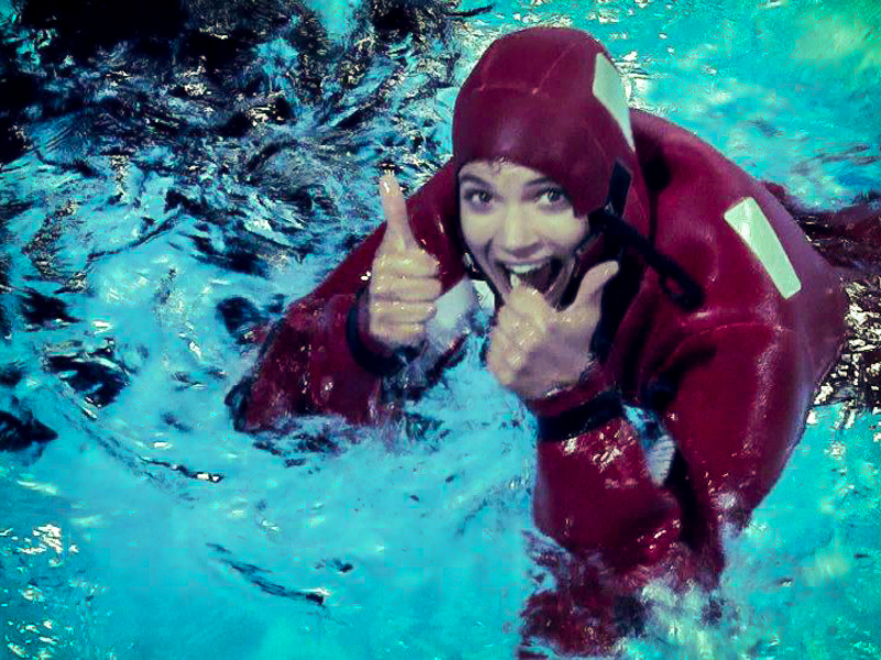 Lena Ganschow Seenotrettungstraining